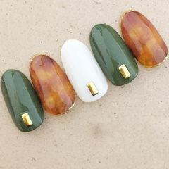 圆形绿色铆钉复古甲片铆钉美甲美甲图片