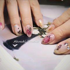 干花日式干花是一种时间沉淀的美美甲图片